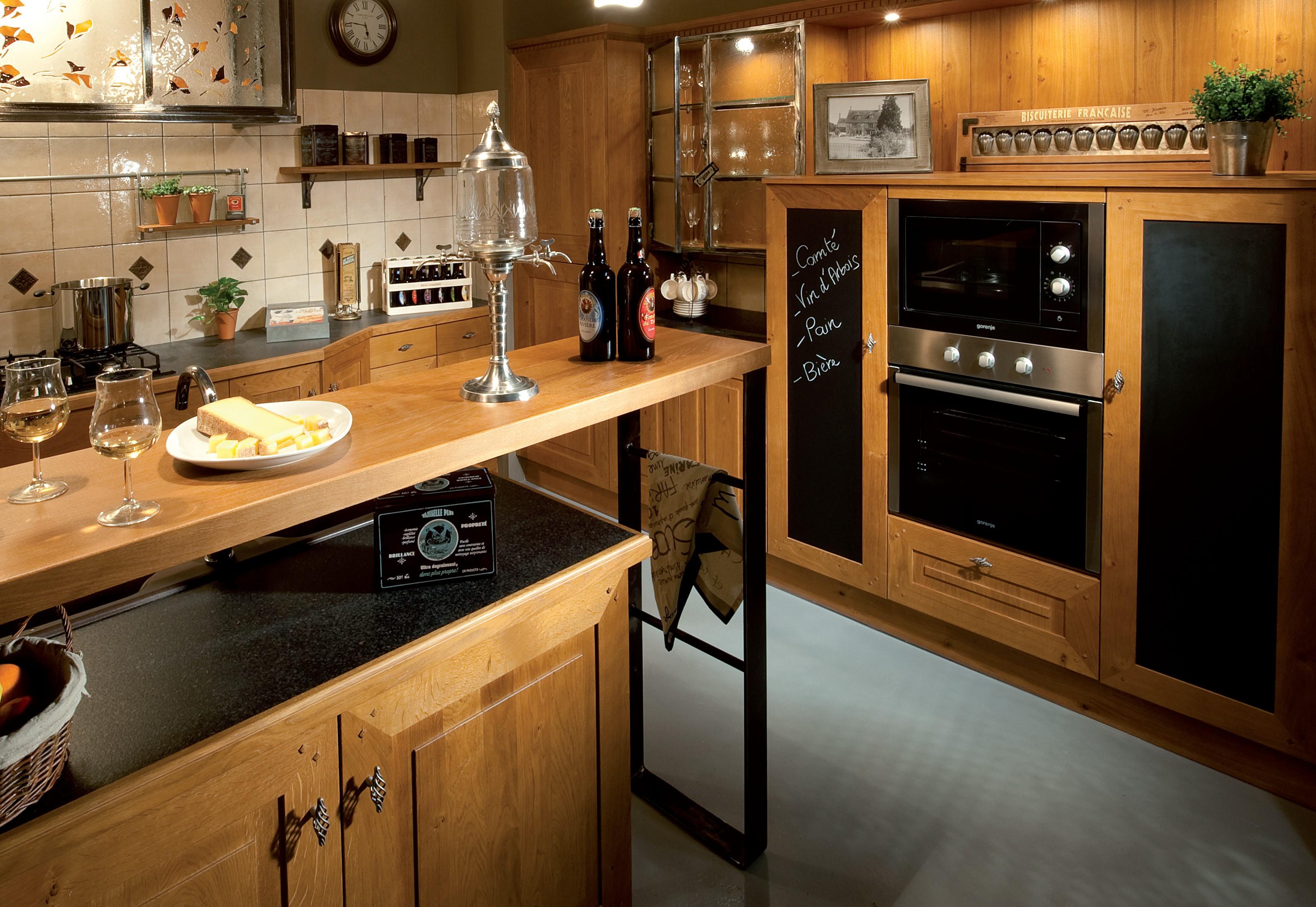 Modele de cuisine moderne en bois for Bois cuisine moderne