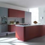 photo cuisine rouge MT701