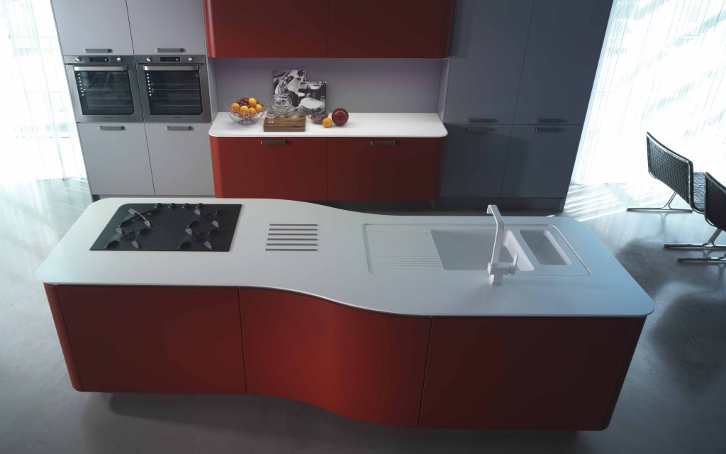 cuisine design rouge MT701