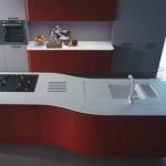 cuisine design rouge MT701