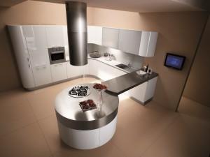 cuisine blanc laqué MT706