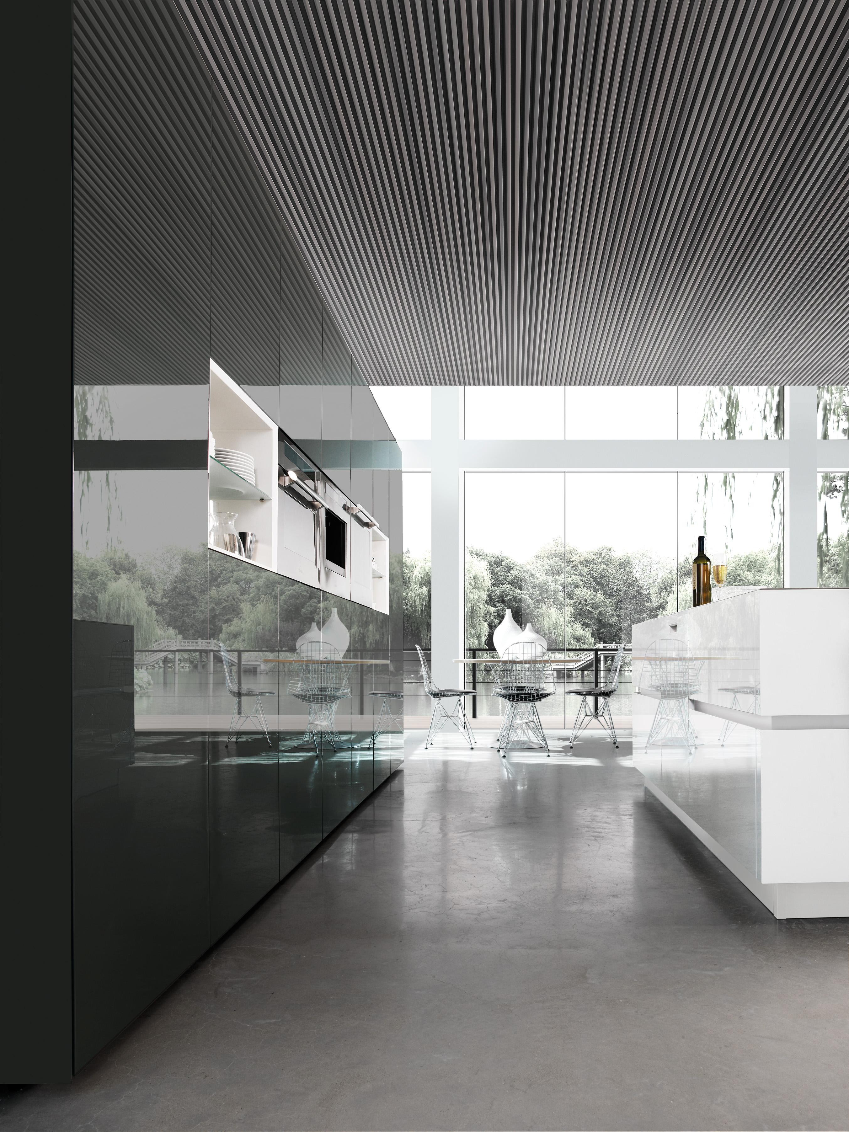 Cuisines modernes et design mod les cuisines modernes action prix - Cuisine design prix ...