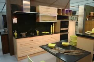 cuisine noir bois Maelys