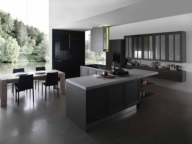 cuisines contemporaines et mod les de cuisines modernes action prix. Black Bedroom Furniture Sets. Home Design Ideas